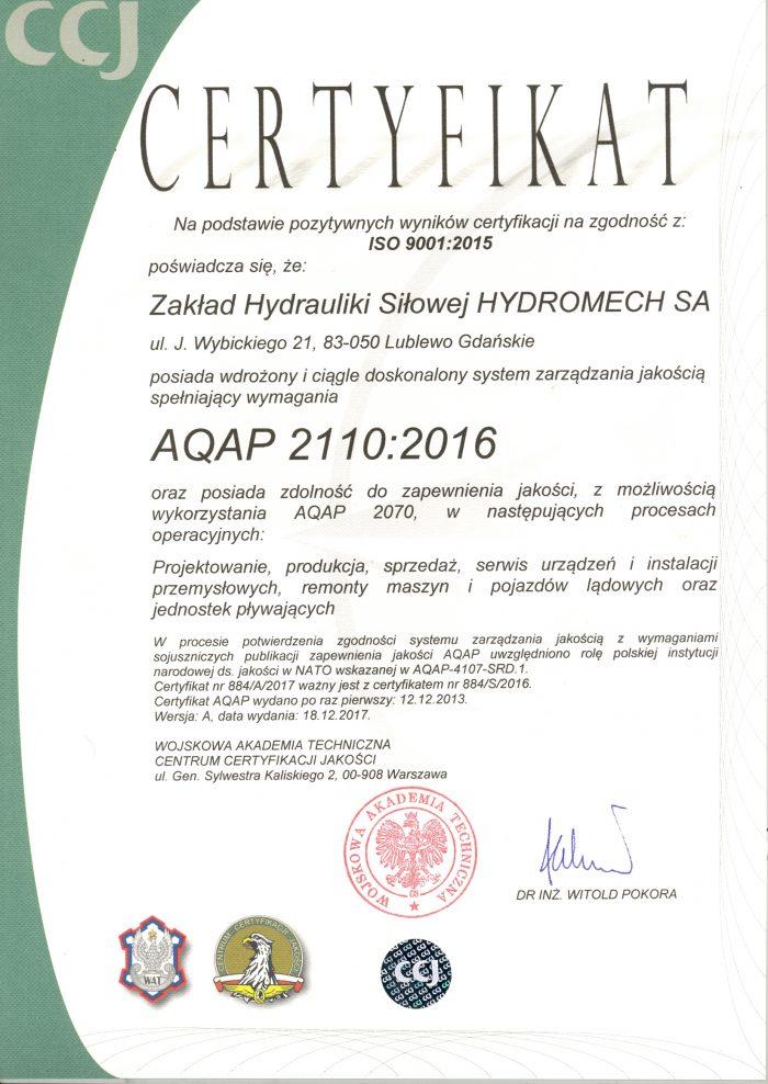Certyfikat_AQAP_2110_2016